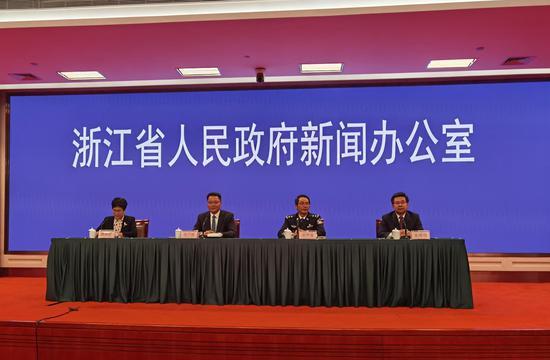 浙江省举行第六十五场新冠肺炎疫情防控工作新闻发布会