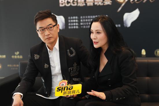 新浪育儿专访邵峰、刘欣夫妇
