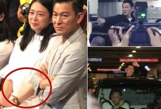 52岁朱丽倩被曝怀孕 刘德华否认:我每晚都很努力
