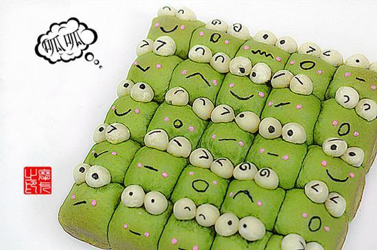 青蛙合唱团小面包
