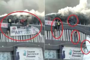印度培训中心火灾致15人死 学生从楼上跳下(图)