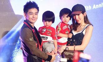 林志颖签唱会与老婆儿子同框