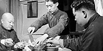 40年代北京人怎么吃烤鴨