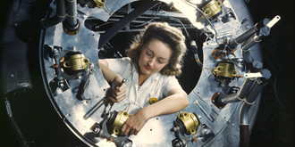 二戰時期的彩色老照片