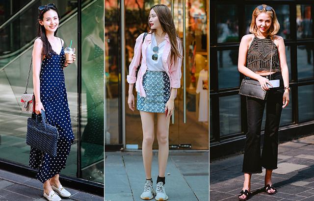 時尚街拍:穿出女人味,其實并不難