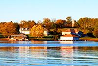 秋季安娜湖美得不可方物