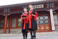 初冬的清華大學