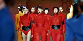 """时装周上的""""中国女孩"""""""