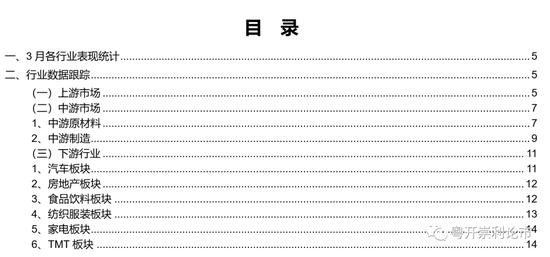 粤开策略:中游制造业景气度上行 供给端持续修复
