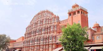 太美!印度有座風之宮殿