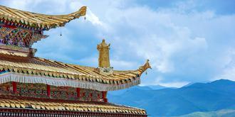 壯觀!青海著名的藏族寺廟