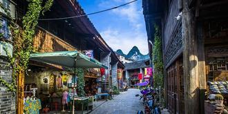漓江沿岸最美古鎮