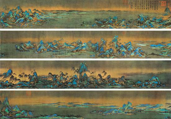 18歲少年畫出曠世巨作:《千里江