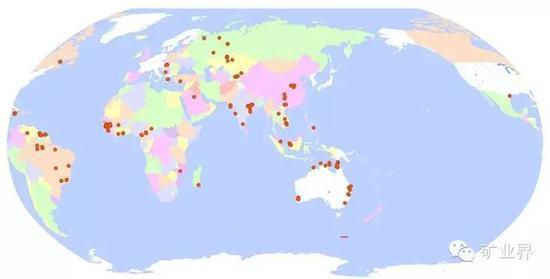 澳大利亚矿产资源图_一文读懂 世界矿产资源分布特点|矿产资源|铁矿_新浪财经_新浪网