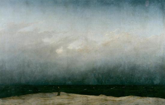 4.《海边的僧侣》(弗里德里希-柏林)