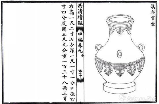 《西清续鉴》插图