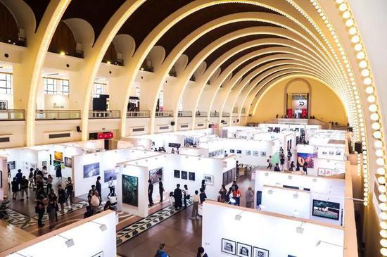 第五屆影像上海藝術博覽會(PHOTOFAIRS Shanghai)展覽現場