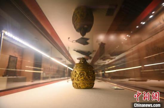 沈陽故宮展出150余件清代宮廷御用品