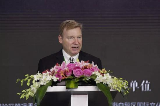 美国UL公司建筑及生命安全科技事业部副总裁 Kevin Faltin