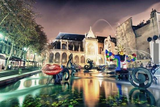 世界各国造型各异的艺术喷泉,真是让人大开眼界