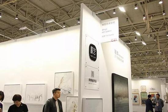 藝術北京 釋藝藝術空間展位