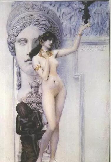 《雕塑的托寓》1889