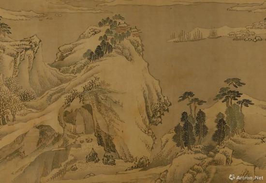 鉴藏:晚明画家张复的实境山水画