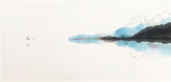 琨玉秋霜:水墨畫想讓世界未來看到什么