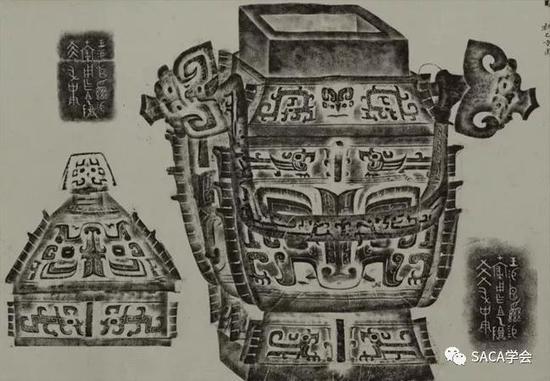 ▲ 小臣xi卣,商代晚期,14.9kg,吴大澂旧藏,上海博物馆藏。