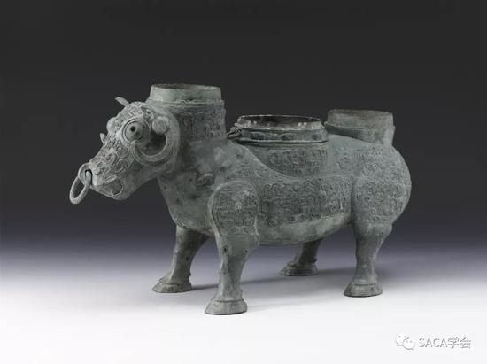 ▲ 牲尊,春秋晚期,10.76kg,上海博物馆藏