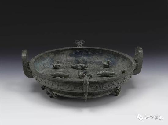 ▲ 子仲姜盘,上海博物馆藏