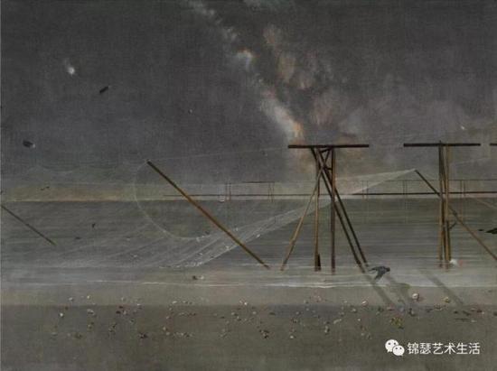 耿德法《有夢》布面油畫 150x200cm 2017年 成交價:25.8萬元