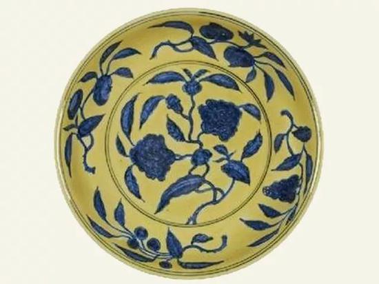 明正德瓷盤(景德鎮窯)