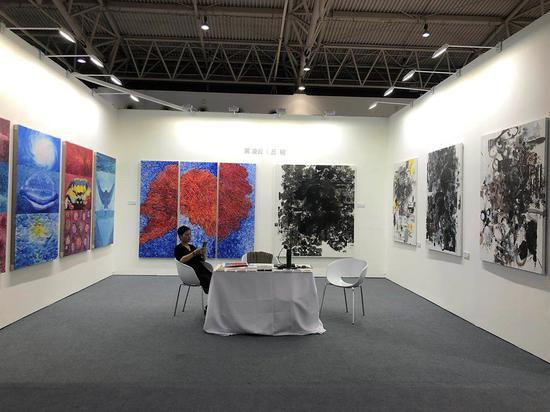 藝術北京:黃凌云12幅作品亮相展位C29