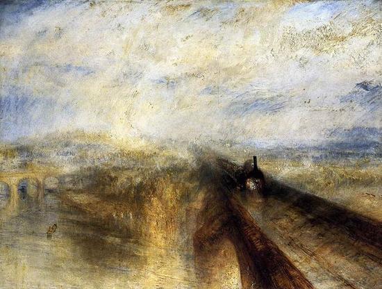 6.《雨,蒸汽和速度》(特纳-伦敦)