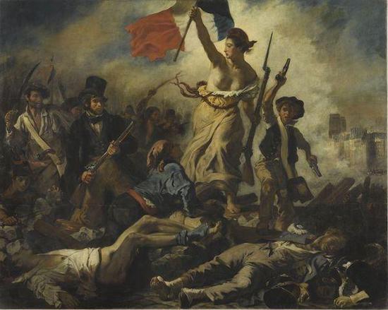 德拉克洛瓦,自由引��人民,1831