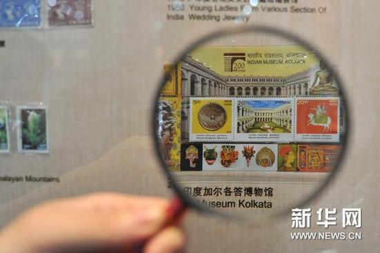 新丝路邮票展在鼓浪屿举行