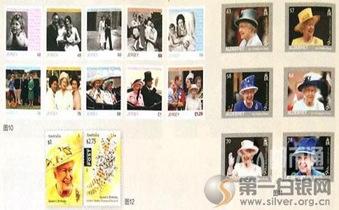 看看人家是怎样过生日的   英国女王庆祝90岁生日发行6枚邮票