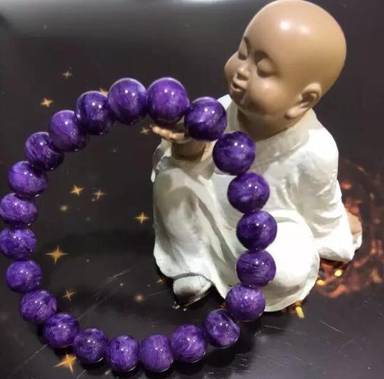 水晶中的贵族--紫龙晶 ,很漂亮的