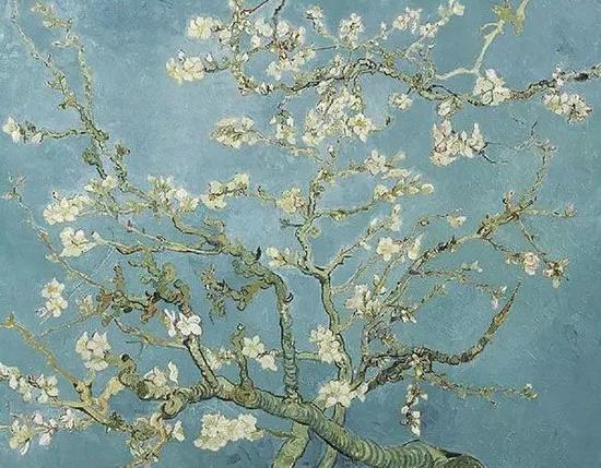 《盛开的杏花》 1890年 梵高博物馆