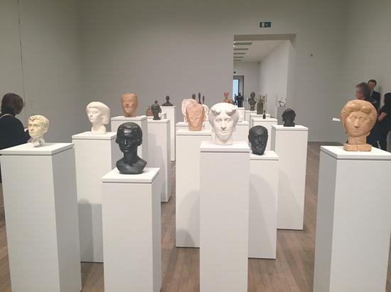艺术界的骨感雕塑