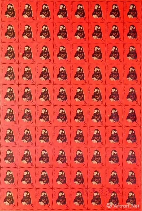 郵票市場回暖  大版票拍出200萬