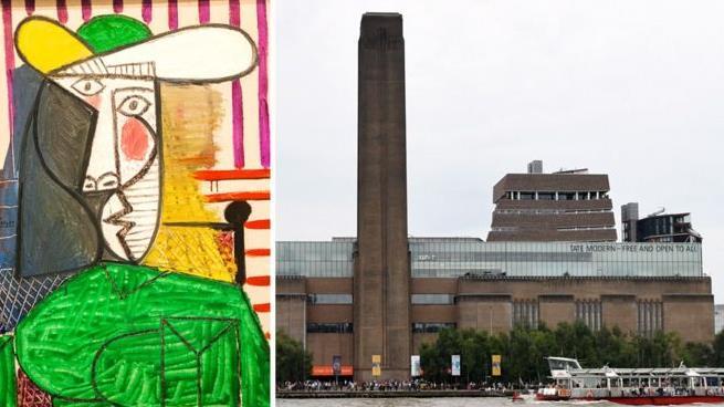 毀壞畢加索1.8億元名畫英國男子被判刑18個月