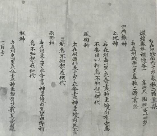 圖10 《沙州都督府圖經》,P.2005,P.2695,法國國家圖書館藏