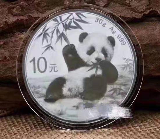 2020年熊貓幣長啥樣?