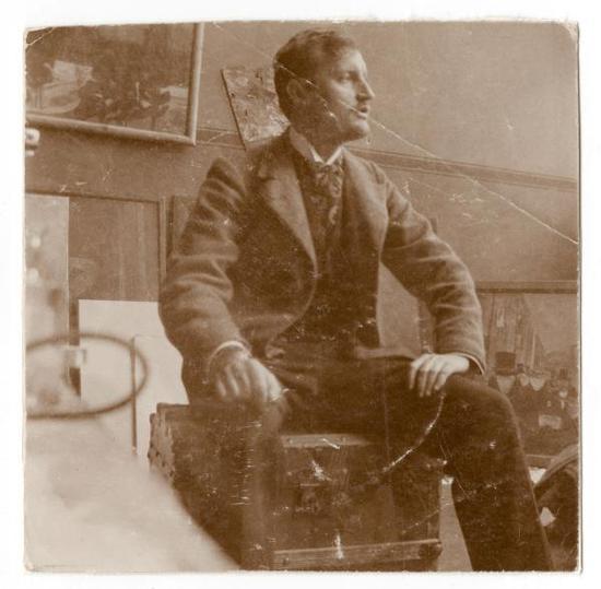 1902年,蒙克在他的工作室