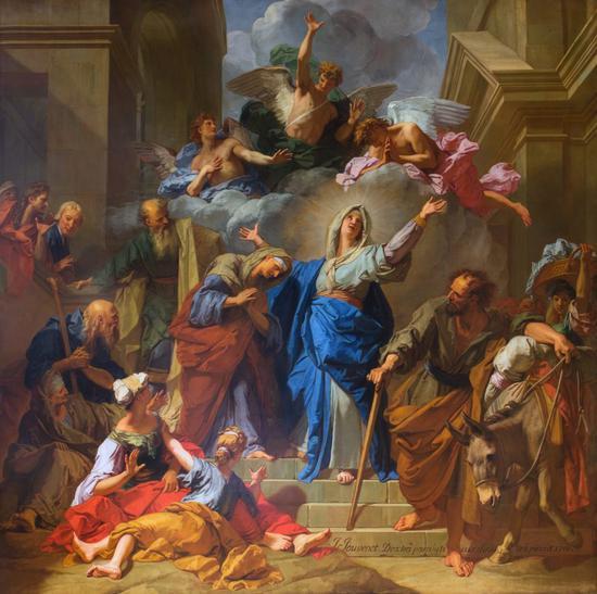 图/巴黎圣母院官网
