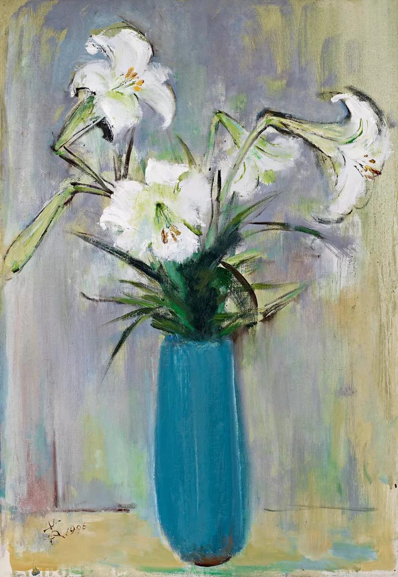 19秋拍·现当代艺术丨诸法合一:苏天赐的百合花