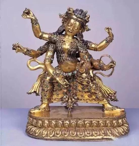 鎏金銅佛像