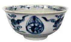 銅川出土的幾件景德鎮窯紀年青花瓷